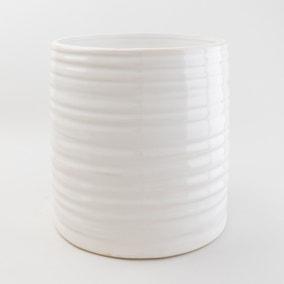 Churchgate Ceramic Ripple Plant Pot