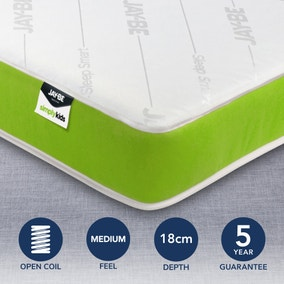 JayBe Simply Kids Anti Allergy Foam Free Open Coil Mattress