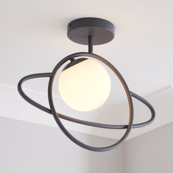 Planet Ceiling Fitting Grey