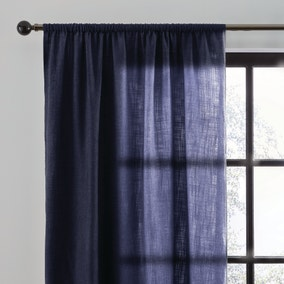 Arthur Recycled Navy Slot Top Single Voile Panel
