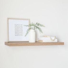 Oak Floating Shelf