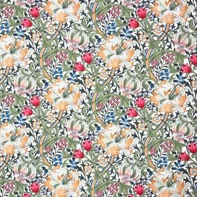 William Morris Golden Lily Craft Cotton