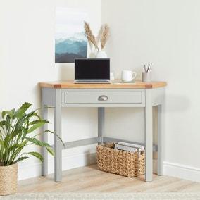 Compton Ivory Corner Desk