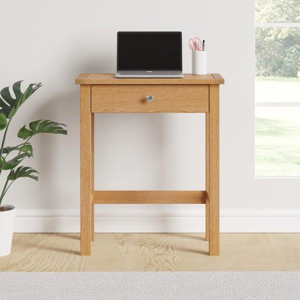 Bromley Oak Compact Desk