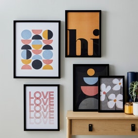 Pack of 5 Elements Posters