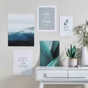 Pack of 5 Mindful Modern Posters