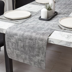 Romano Faux Leather Runner