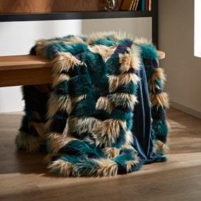 Milan Faux Fur Throw