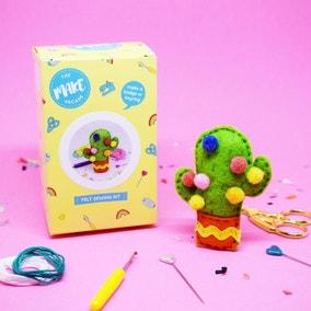 The Make Arcade Cactus Felt Craft Kit
