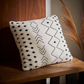 Boho Printed Fleece Cushion