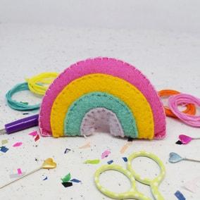 The Make Arcade Rainbow Felt Craft Kit
