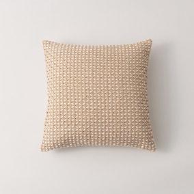 Jute Diamond Cotton Cushion