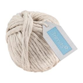 Cotton Macrame Cord 50m Spool
