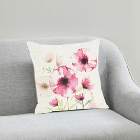Poppy 43x43cm Cushion Pink