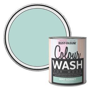 Rust-Oleum Mint Sorbet Colour Wash Paint 750ml