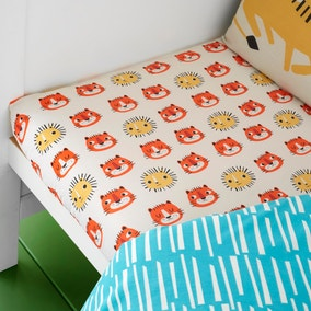 Cosatto Tiger Tropics Pack of 2 100% Cotton Fitted Sheets