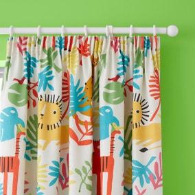 Cosatto Tiger Tropics Pencil Pleat Curtains