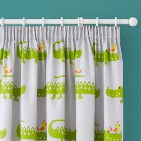 Cosatto Crocodile Smiles Pencil Pleat Curtains