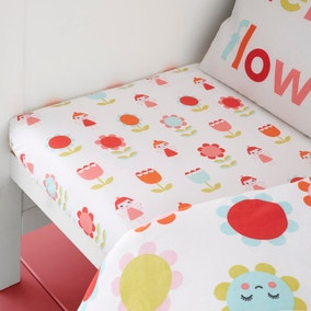 Cosatto Fairy Garden 100% Cotton Fitted Sheet Twin Pack