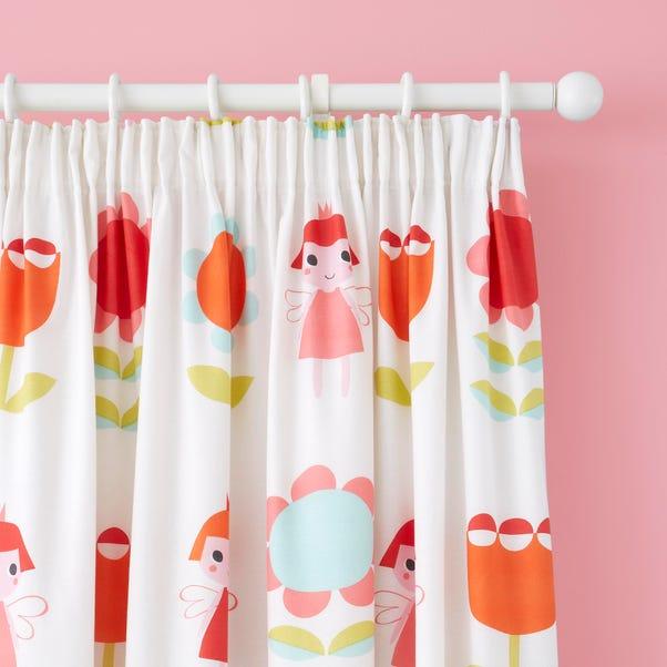 Cosatto Fairy Garden Pencil Pleat Curtains MultiColoured