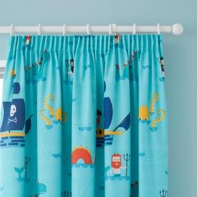 Cosatto Sea Monsters Pencil Pleat Curtains