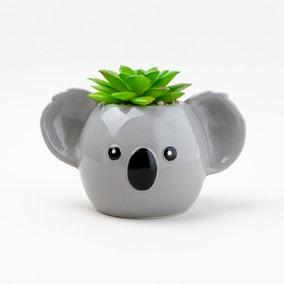 Koko The Koala Artificial Plant Pot