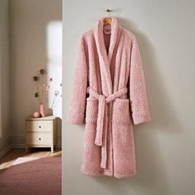 Teddy Bear So Soft Blush Dressing Gown