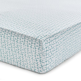 Helena Springfield Liv Tolka Teal Fitted Sheet