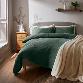 Teddy Bear Duvet Cover and Pillowcase Set