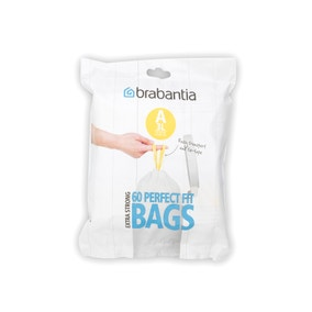 Brabantia Perfectfit Pack of 60 Size A 3 Litre Bin Bags
