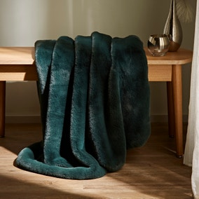 Silky Soft Faux Fur Recycled Throw