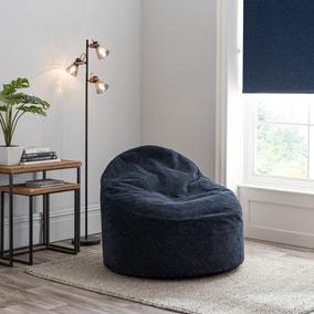 Jenson Navy Bean Bag Chair