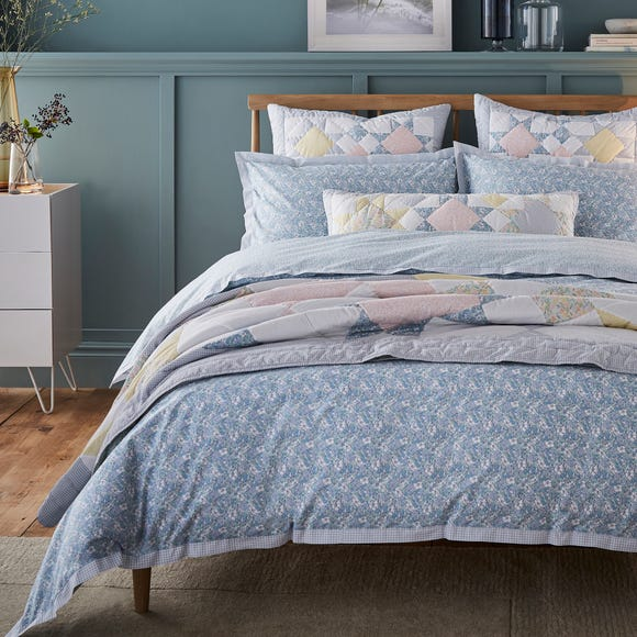 Dorma Decades Nancy Rose Duvet Cover and Pillowcase Set  undefined