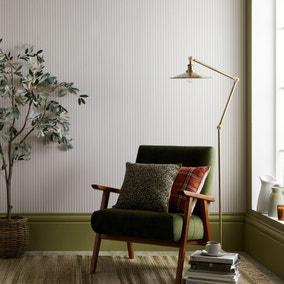 Ticking Natural Striped Wallpaper