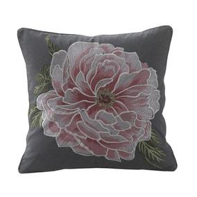 Avery Green Amalia Charcoal Canvas Cushion