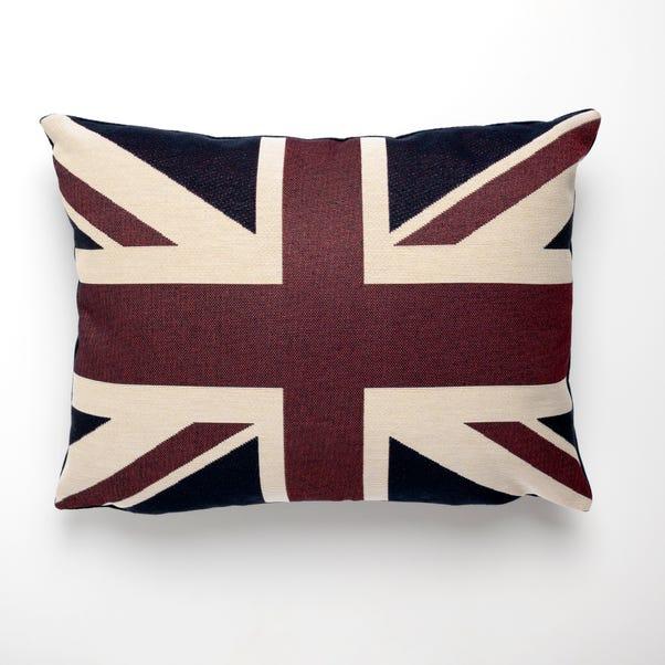 Vintage Union Jack Cushion Blue