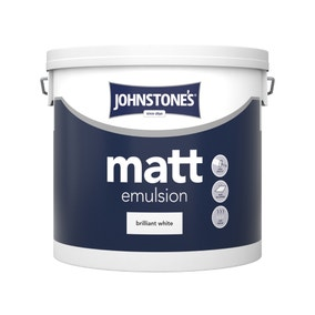 Johnstone's Matt Emulsion Brilliant White