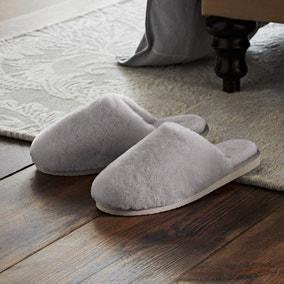 Dorma Sheepskin Mule Slippers