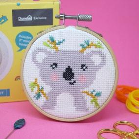 The Make Arcade Koala Cross Stitch