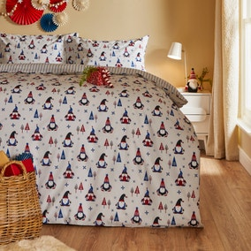Nordic Nomad Reversible Duvet Cover and Pillowcase Set