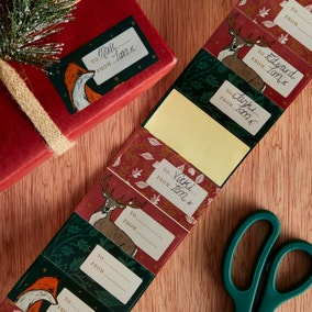 Winter Solstice Sticker Gift Tags