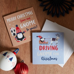 Pack of 10 Nordic Nomad Christmas Cards
