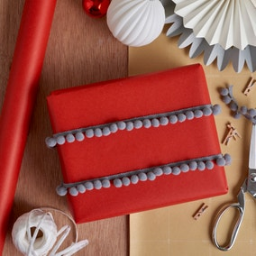 3m Red Winter Solstice Wrapping Paper