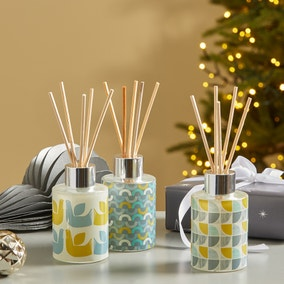 Set of 3 Elements Clean Linen Diffusers