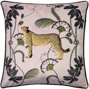 Tropica Cheetah Cushion Blush