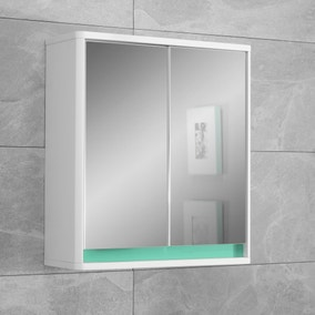 Vienna Mirror Cabinet with Reversible 4 in 1 Colour Bar