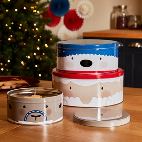 Nordic Nomad Character Cake Tin Trio