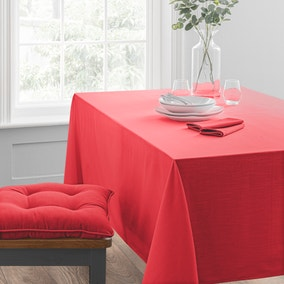 Isabelle Red Tablecloth