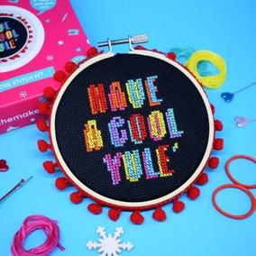 The Make Arcade Cool Yule Midi Cross Stitch