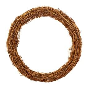 DIY 30cm Rattan Wreath